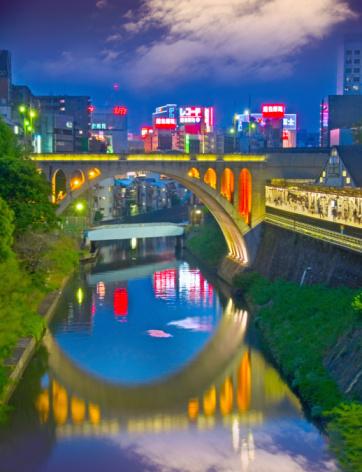 Central Tokyo at Night